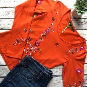 Oilily cropped knit top
